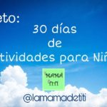 30 días de Actividades para Niños