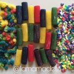 Arroz, Macarrones y Estrellitas de Colores