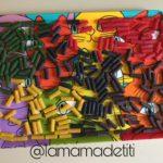 Día 9: Jugamos con Macarrones de Colores