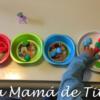 Actividades de Psicomotricidad Fina con POMPONES para niños de 1 y 2 años